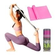 Faixa Elástica Fisio Pilates Yoga Mbfit Rosa Pink