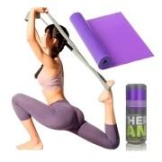 Faixa Elástica Fisio Pilates Yoga Mbfit Roxo