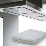 Filtro Branco para Coifa/ Exaustor 60x80cm/para fogão de até 6 bocas- 2 unidades