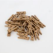 Kit 40 Mini Prendedores - Bronze