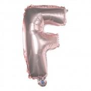 Kit Balões Metalizado Feliz Aniversário Estrela Látex Rose Gold