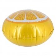 Kit com 05 Balões Metalizado - Laranja (46cm)