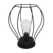 Luminária Decorativa de Mesa - Balão Preto