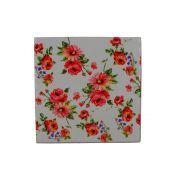 Mini Quadro Decorativo – Flores Rosas