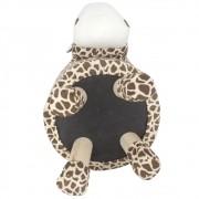 Puff Redondo Banquinho Banqueta Infantil - Girafa