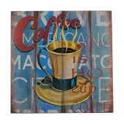 Quadro Decorativo – Coffee MDF
