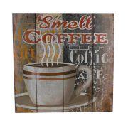 Quadro Decorativo – Smell Coffee MDF