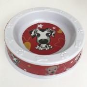Tigela Comedouro Pet Dogs Em Melanina - 250ml