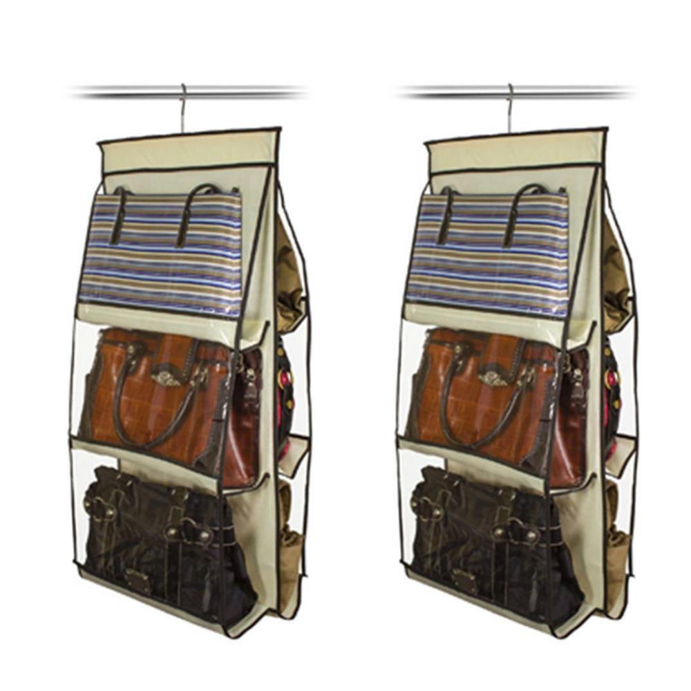 Organizador de Bolsas VB Home para Cabide Marfim 2 peças  - Shop Ud