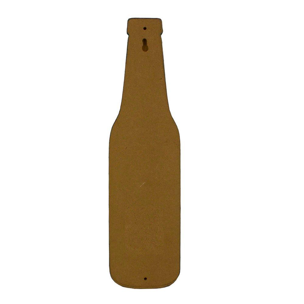Abridor de Garrafa MDF Parede – Bar Open (Amarelo)  - Shop Ud