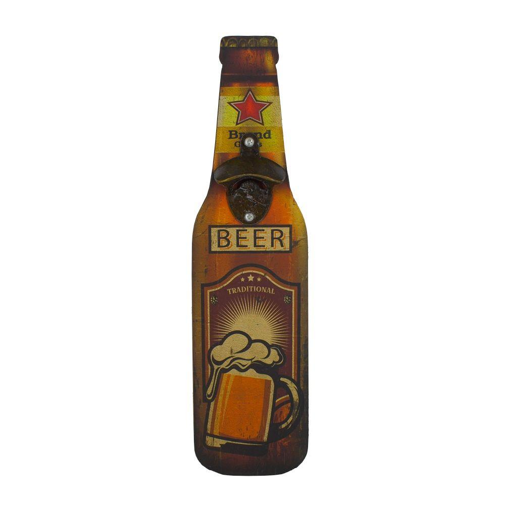 Abridor de Garrafa MDF Parede – Caneca de Cerveja com Espuma Tradicional  - Shop Ud