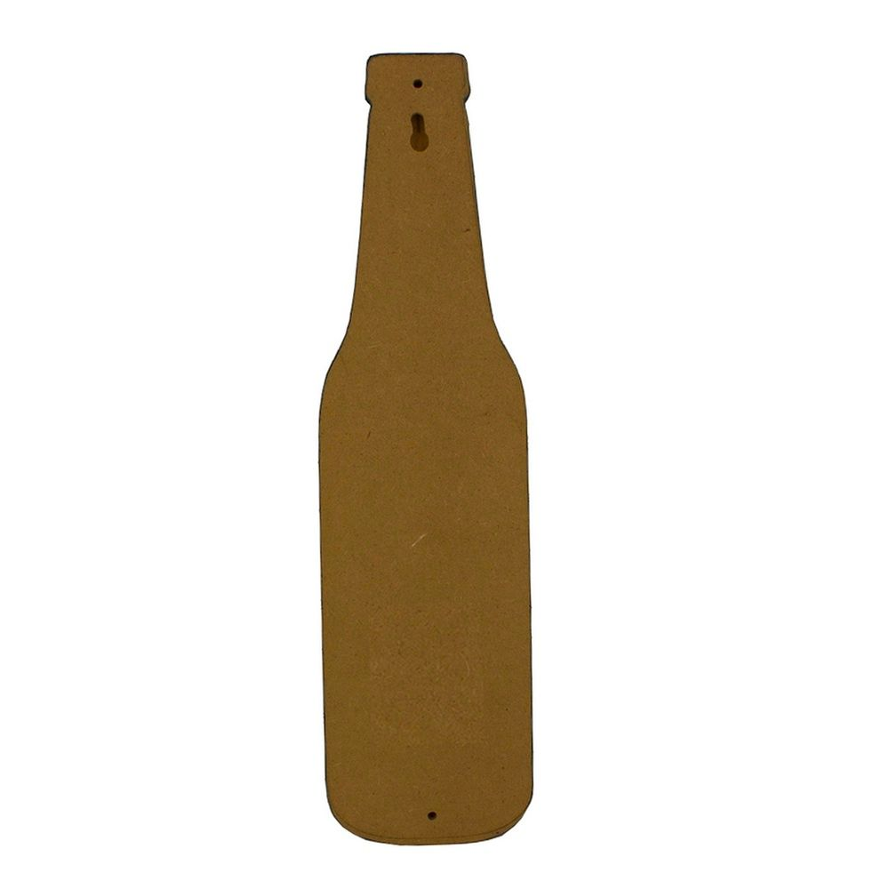 Abridor de Garrafa MDF Parede – Open Beer (Marrom)  - Shop Ud