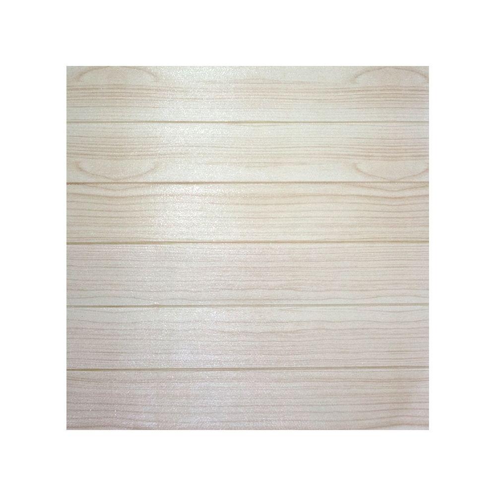 Adesivo Decorativo com Relevo e Textura Madeira Bege  70x69  - Shop Ud