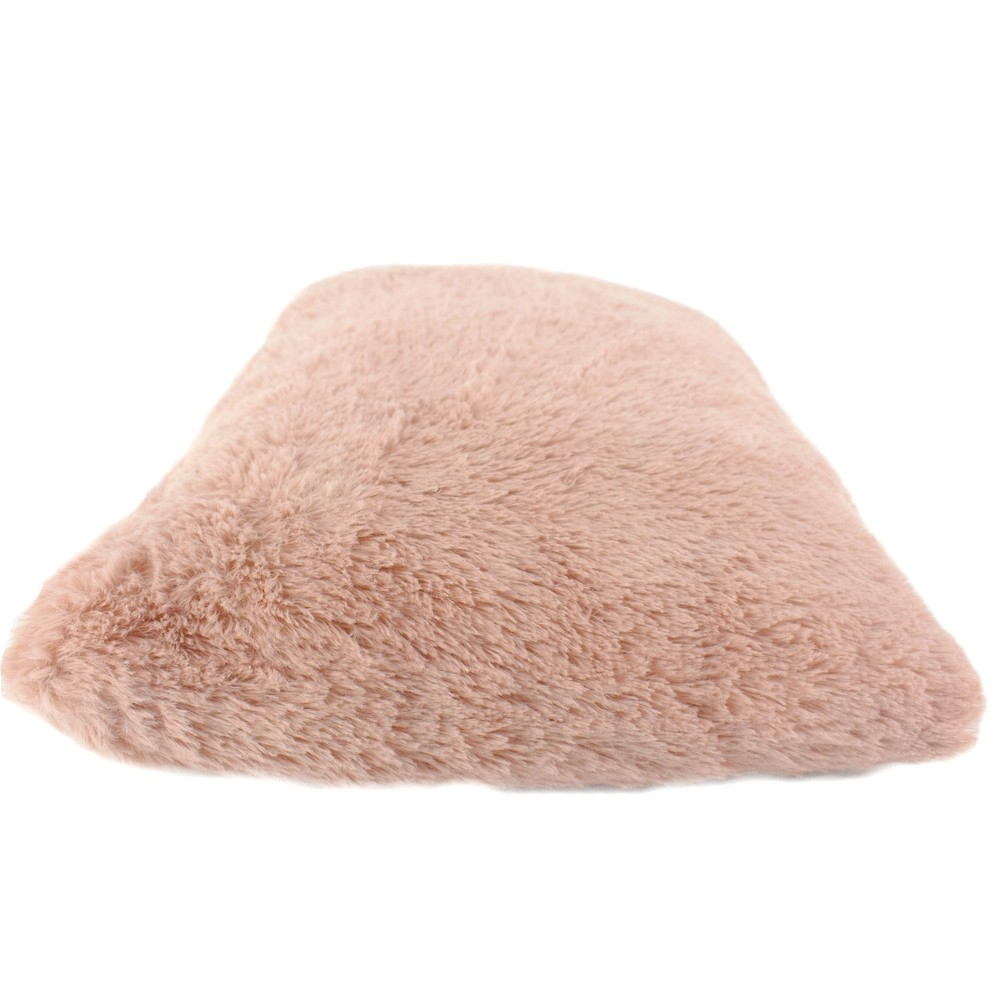 Almofada Decorativa Retangular Felpuda - Rose Nude  - Shop Ud
