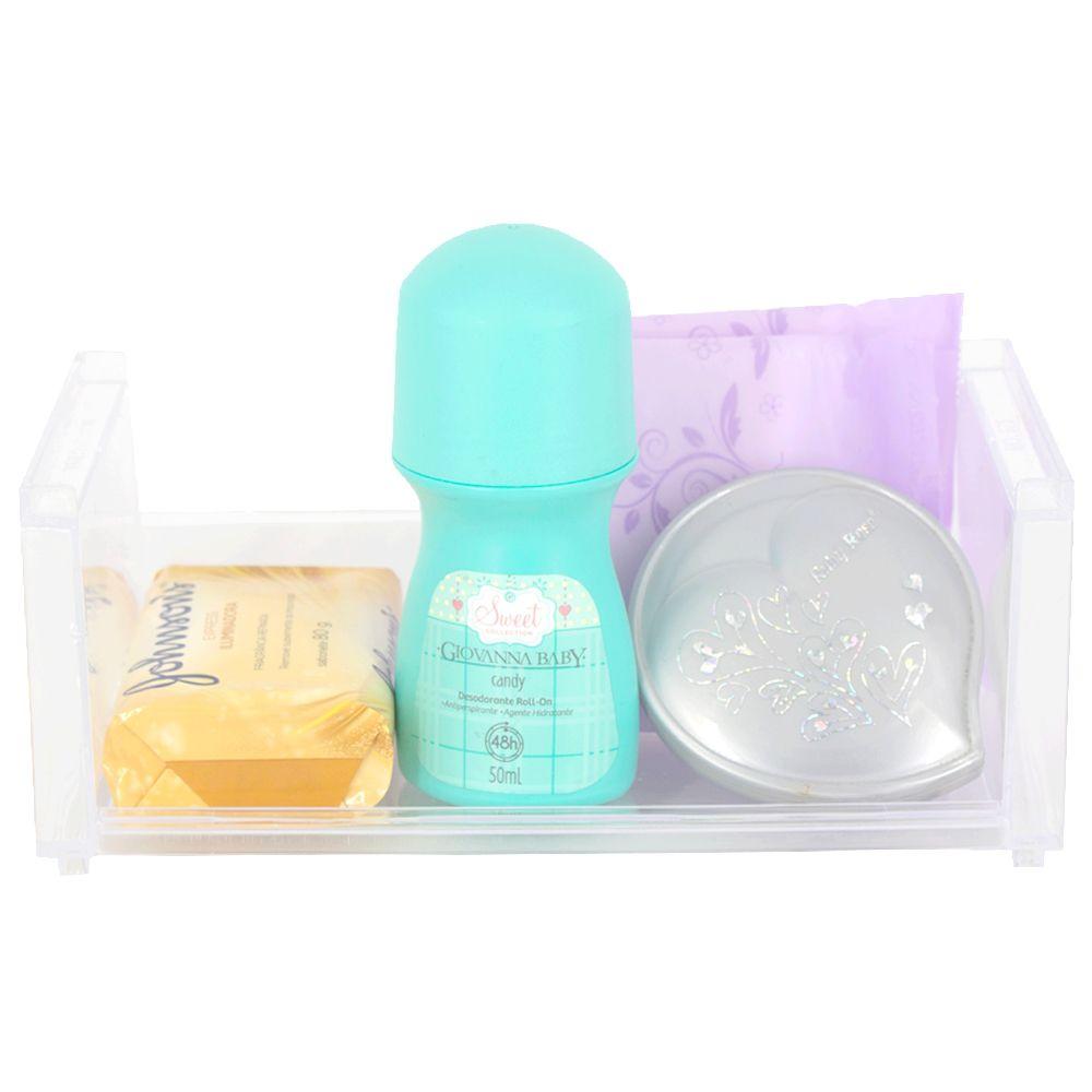 Aparador Organizador de Plástico Multiuso - 19,8 x 9 x 8 cm  - Shop Ud