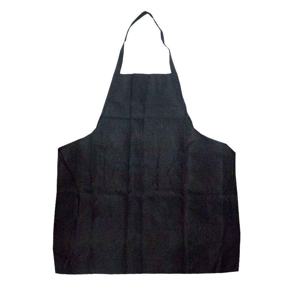 Avental em Tecido para Cozinha e Churrasco - Preto  - Shop Ud