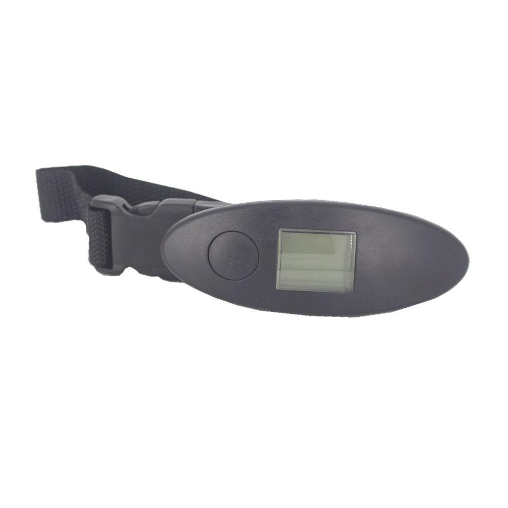 Balança Digital para Bagagem 11 cm pesa até 50 kg Preto  - Shop Ud