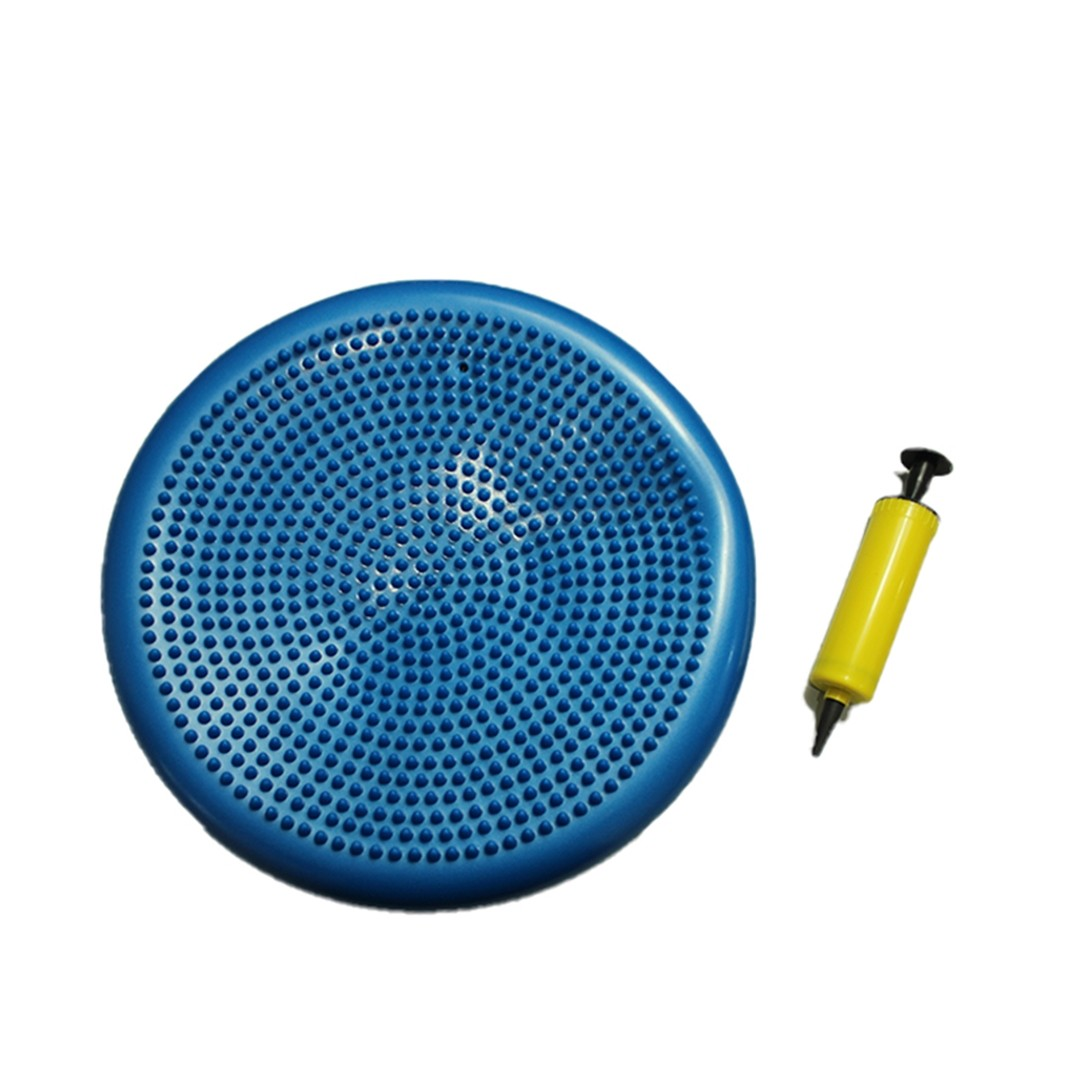 Balance Disc Disco Equilíbrio Inflável C/ Bomba Azul  - Shop Ud