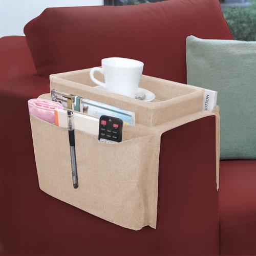 Bandeja e esteira para braço de sofá Marfim  - Shop Ud