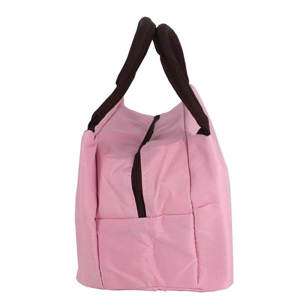 Bolsa Necessaire Térmica Marmita - Porquinha com Laço Rosa  - Shop Ud