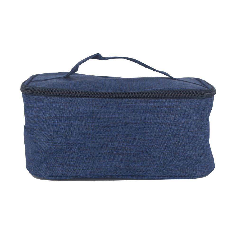 Bolsa Térmica Alimentos Quentes Frio 03 Litros Azul Marinho