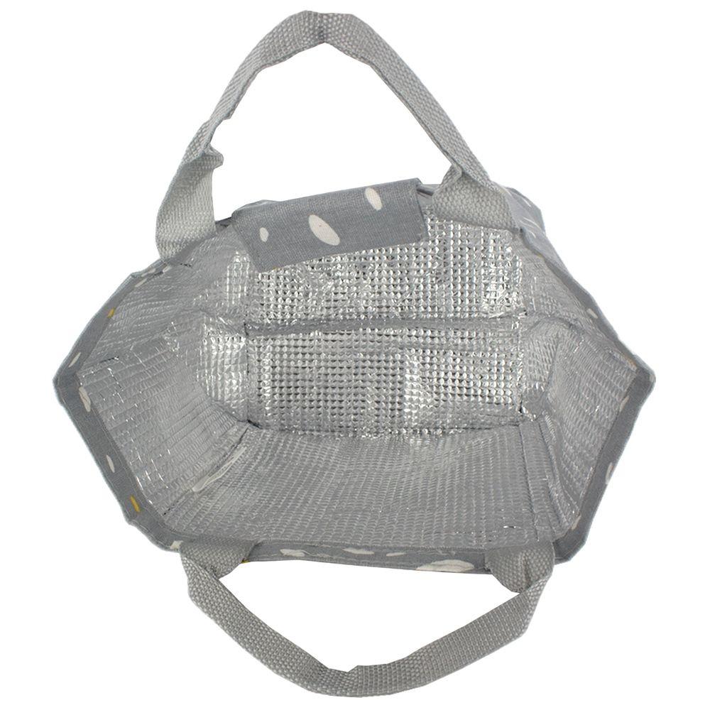 Bolsa térmica em Tecido - Cinza  - Shop Ud