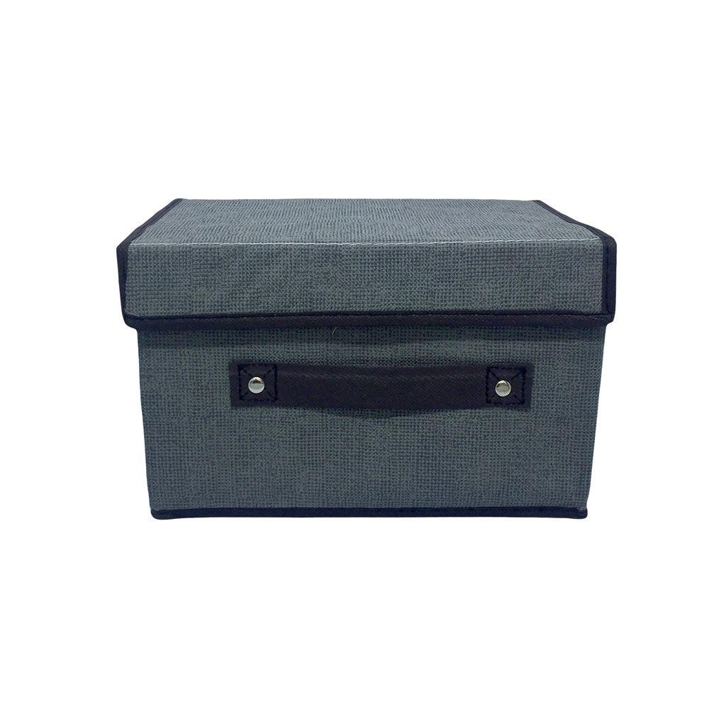 Caixa Organizadora Cinza