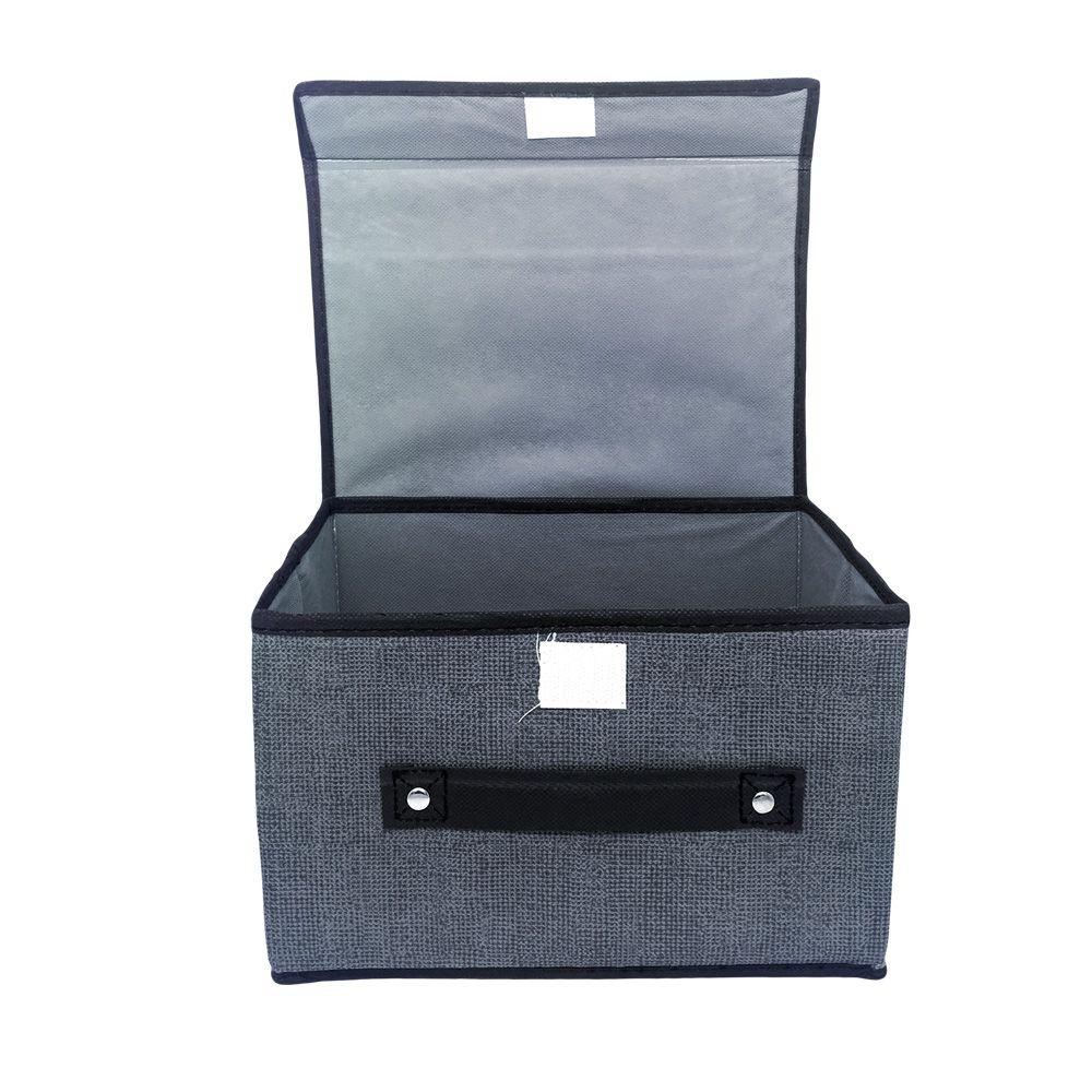 Caixa Organizadora Cinza  - Shop Ud