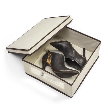 Caixa organizadora de sapatos M - 2 unidades  - Shop Ud