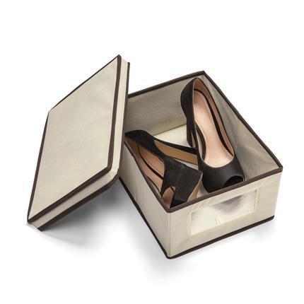 Caixa organizadora de sapatos M - 8 unidades  - Shop Ud