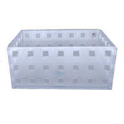 Caixa Organizadora Empilhável acrílica 14 cm x 10,5cm x 6,3cm