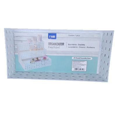 Caixa Organizadora Empilhável branca 14x7x4,3cm   - Shop Ud