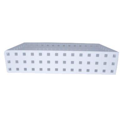 Caixa Organizadora Empilhável branca 14x7x4,3cm