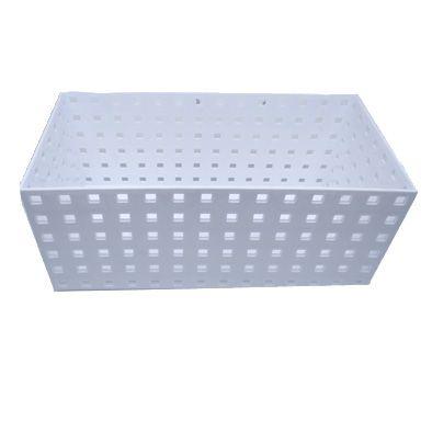 Caixa Organizadora Empilhável branca 27,9x14x12,3cm  - Shop Ud