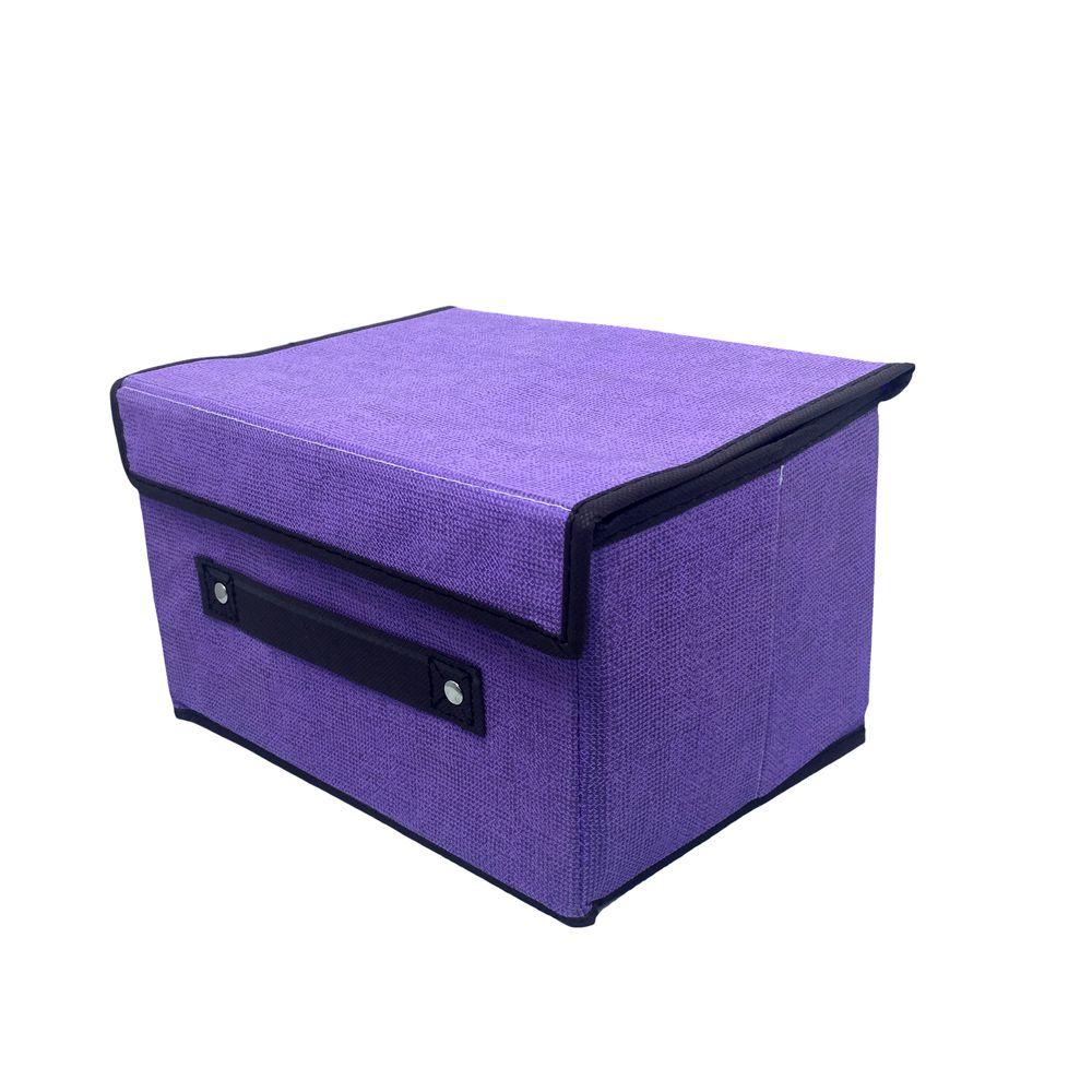 Caixa Organizadora Lilás Multiuso  - Shop Ud