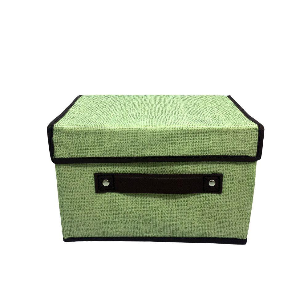 Caixa Organizadora Verde Multiuso