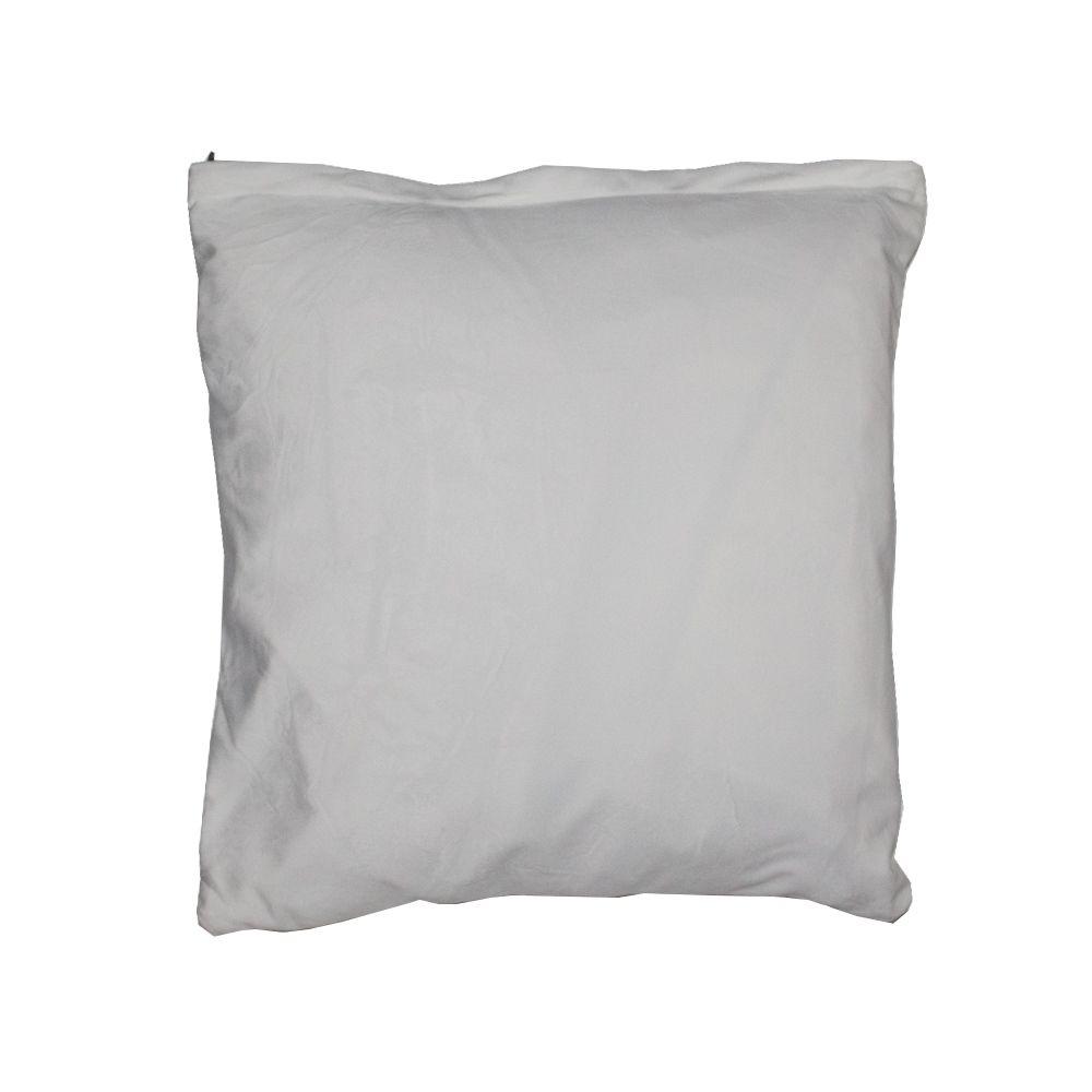 Capa para Almofada em Veludo - 03 Penas - Branca 43x43cm  - Shop Ud