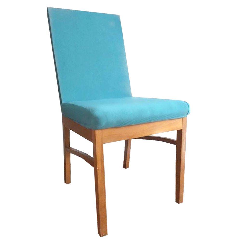 Capa para Cadeira de Jantar Ajustável - Azul Claro  - Shop Ud