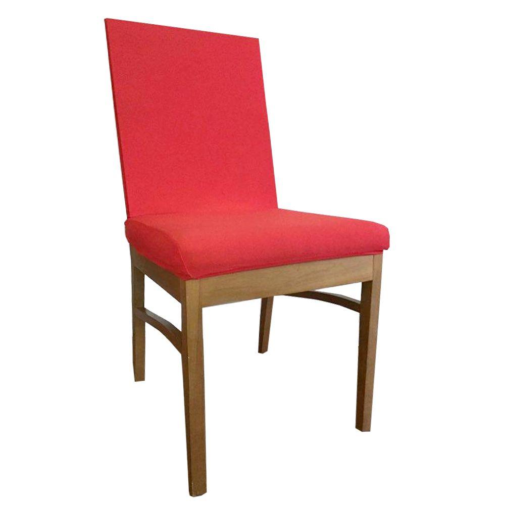 Capa para Cadeira de Jantar Ajustável - Vermelha  - Shop Ud