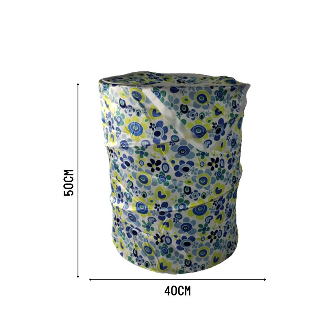 Cesto Dobrável De Roupa Suja Pop Up Lavaderia 40x50 Verde  - Shop Ud
