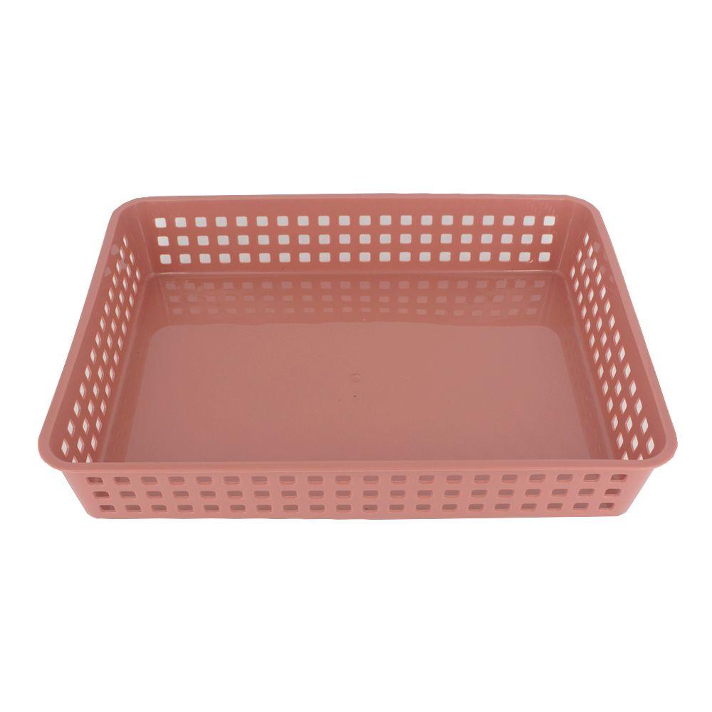Cesto Multiuso Organizador - Vermelho - 33cm x 24,7cm x 6cm  - Shop Ud