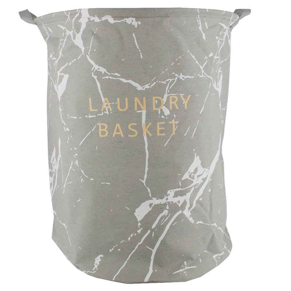 Cesto Organizador 40x50 - Laundry Basket Cinza