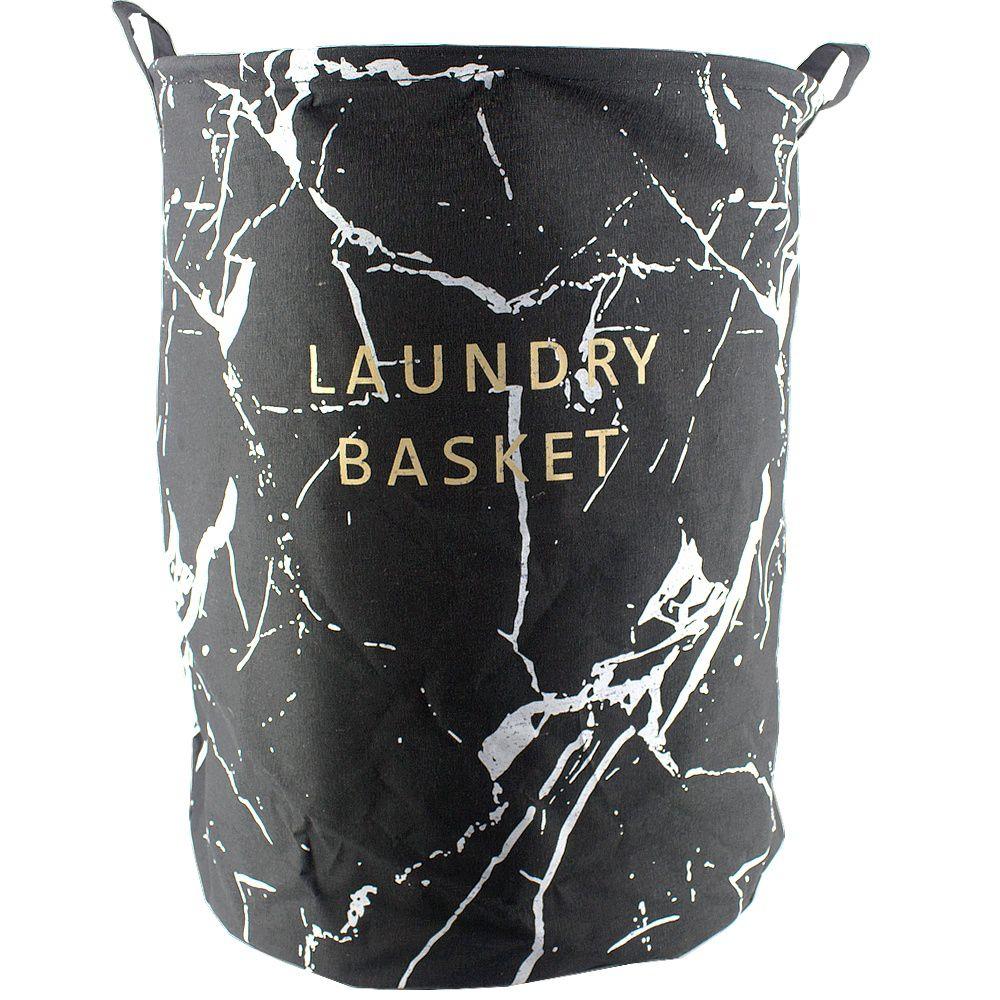 Cesto Organizador 40x50 - Laundry Basket Preto