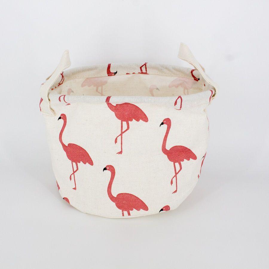 Cesto Organizador Multiuso - Rosa (Flamingo)