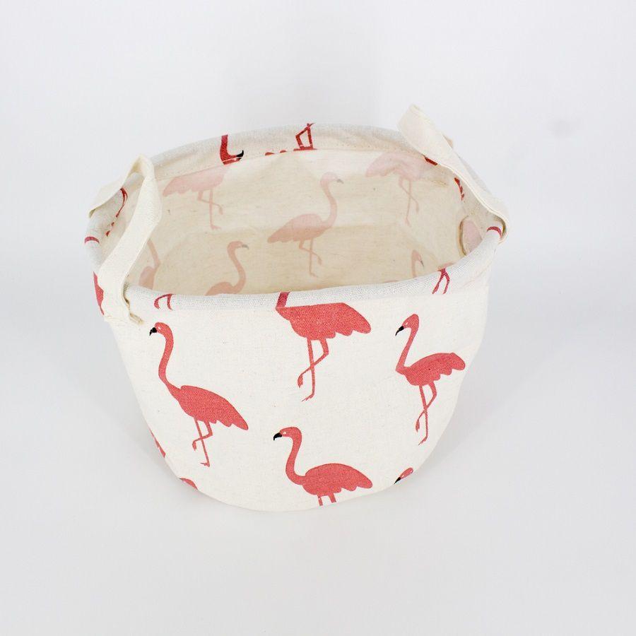 Cesto Organizador Multiuso - Rosa (Flamingo)  - Shop Ud