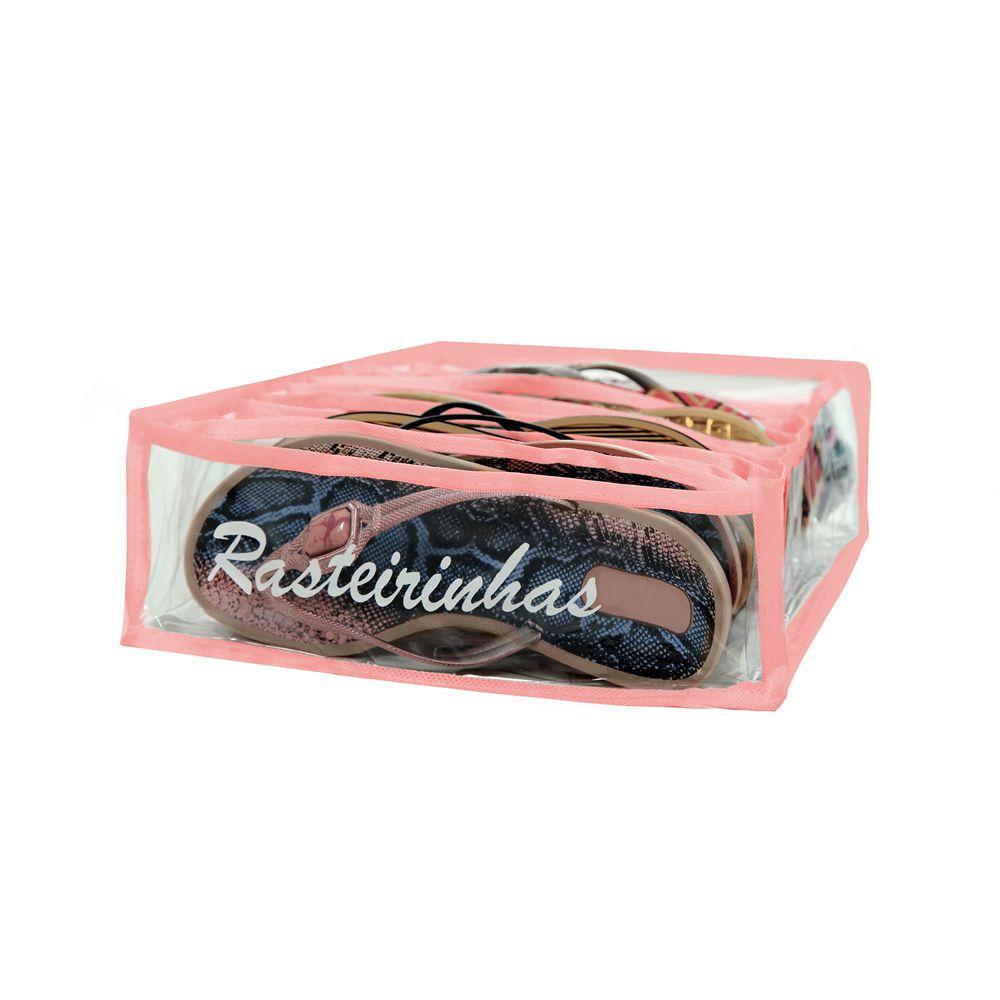 Colmeia Organizadora de Rasteirinha - Rosa 4 Peças  - Shop Ud