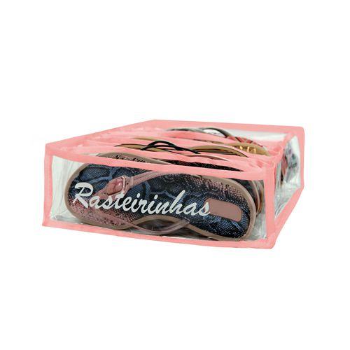 Colmeia Organizadora de Rasteirinha - Rosa  - Shop Ud