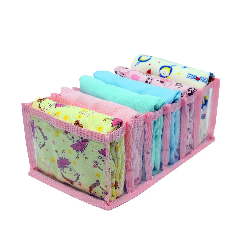 Colmeia Organizadora para Biquinis Sungas Boby Bebê Transp Rosa 2 peças  - Shop Ud