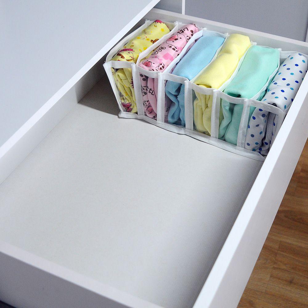 Colmeia Organizadora para Biquinis, Sungas, Bodys Bebê Transp Branco 2 peças  - Shop Ud