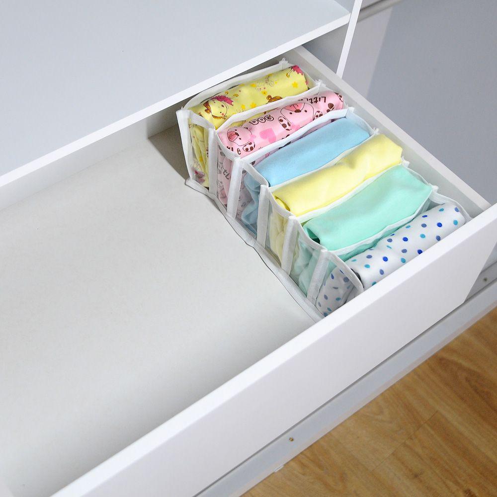 Colmeia Organizadora para Biquinis Sungas Bodys Bebê Transp Branco 4 peças  - Shop Ud
